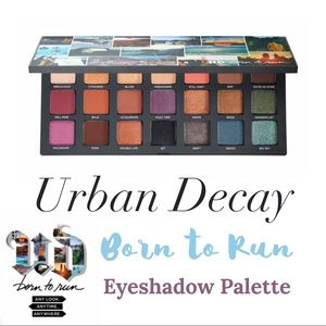 Urban Decay • Born To Run Eyeshadow Palette •